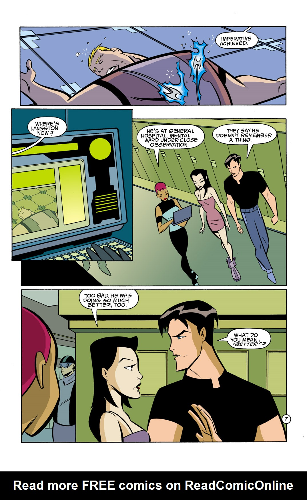 Batman Beyond [II] Issue #11 #11 - English 8