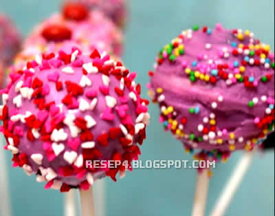 Resep Candy Pop