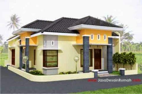 Contoh Desain Rumah Minimalis 04