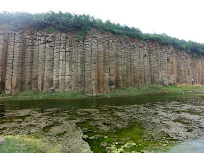 Wonderful Rocks at Penghu Island Taiwan