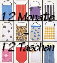 12 Taschen - 12 Monate