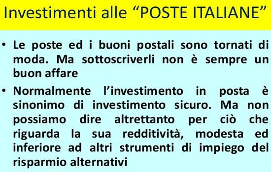 investimenti-poste-italiane-cosa-offrono