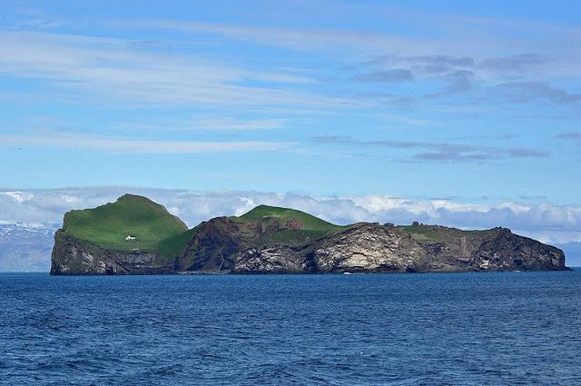 La casa en la isla de Elliðaey