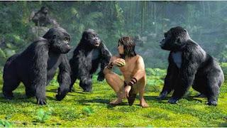 """Cena do filme:  """"Tarzan - A Evolução da Lenda"""""""