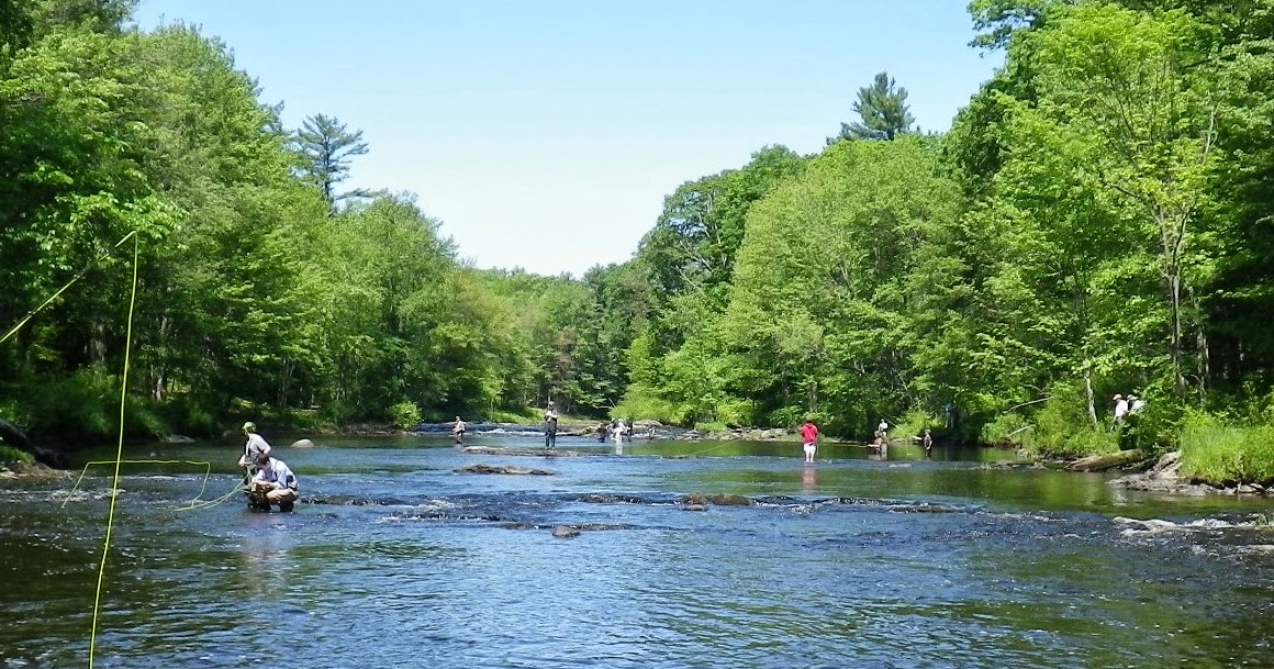 First cast fly fishing new england fly fishing lessons for Best trout fishing in new hampshire