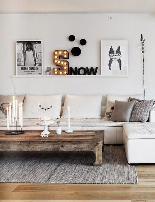 white fashion decoration