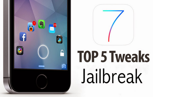 Top 5 best Cydia Jailbreak Tweaks and Apps for iOS 7 and iOS 8 Lockscreen!
