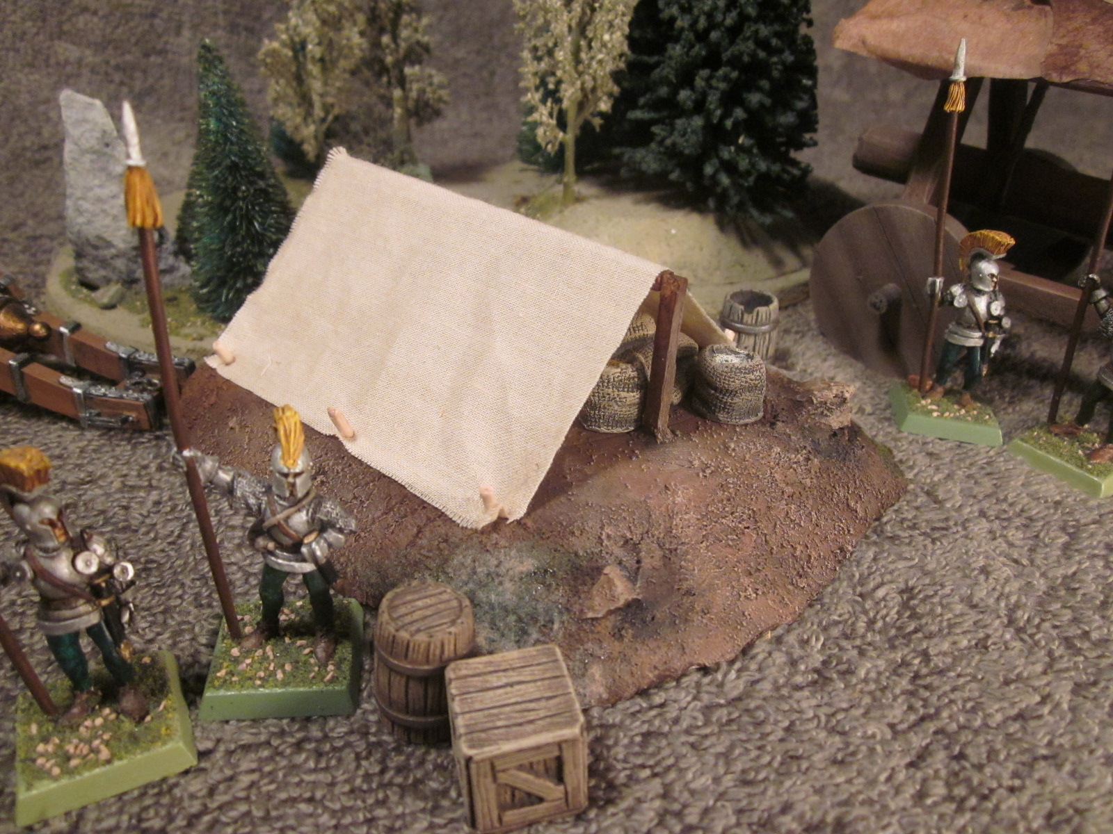 Battleground Hobbies How To Build Tents For A Historical