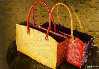 bolsa de palha-bolsa de praia-artesanato de palha de piaçava-artesanato da Bahia-trança de piaçava-artesanato indígena-bolsa 1