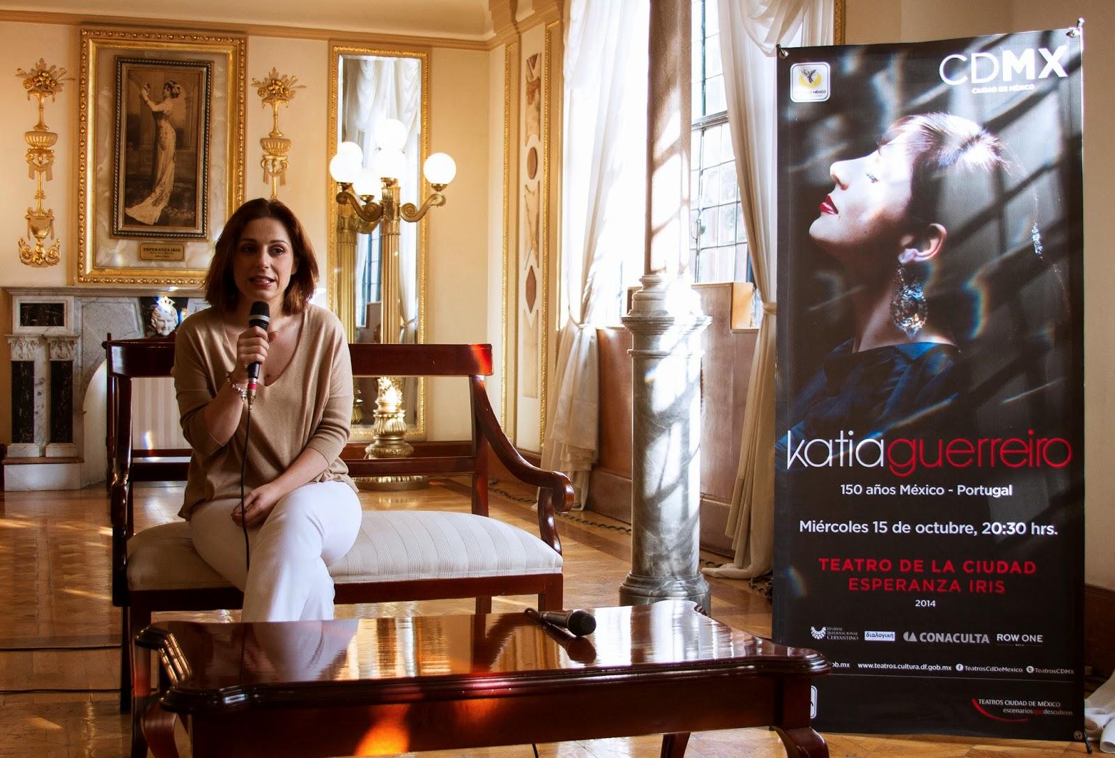 Katia Guerreiro dará concierto en el Teatro de la Ciudad como parte del Cervantino