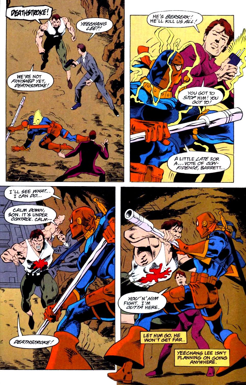 Deathstroke (1991) Issue #25 #30 - English 23