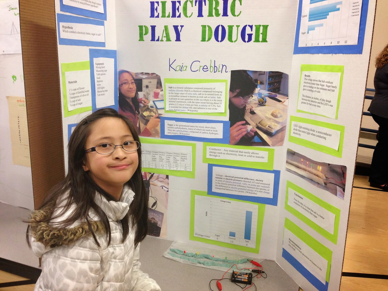 Electricity Science Fair Boards Bing Electrical Circuit Project