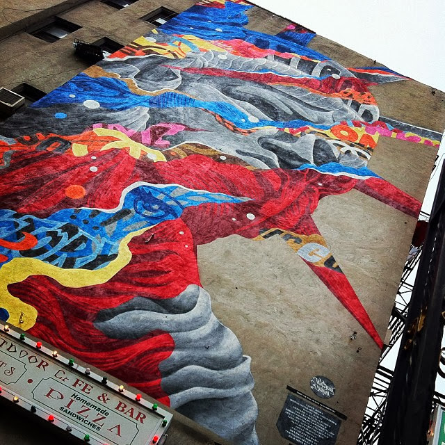 """Liberty"" New Street Art By Tristan Eaton For The Lisa Project In New York City, USA. 4"
