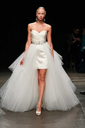 2013 high low wedding dresses