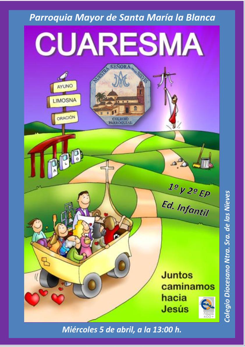 Celebración Cuaresma Infantil, 1º y 2º de Primaria