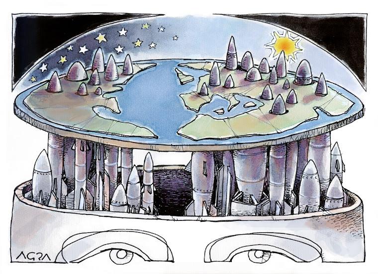 millones de años de evolución y la tierra sigue siendo plana!