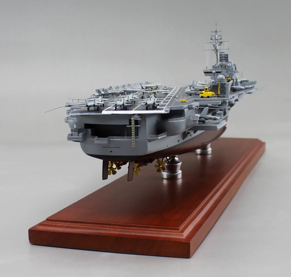 "26"" USS Constellation (CV-64) Aircraft Carrier Model 