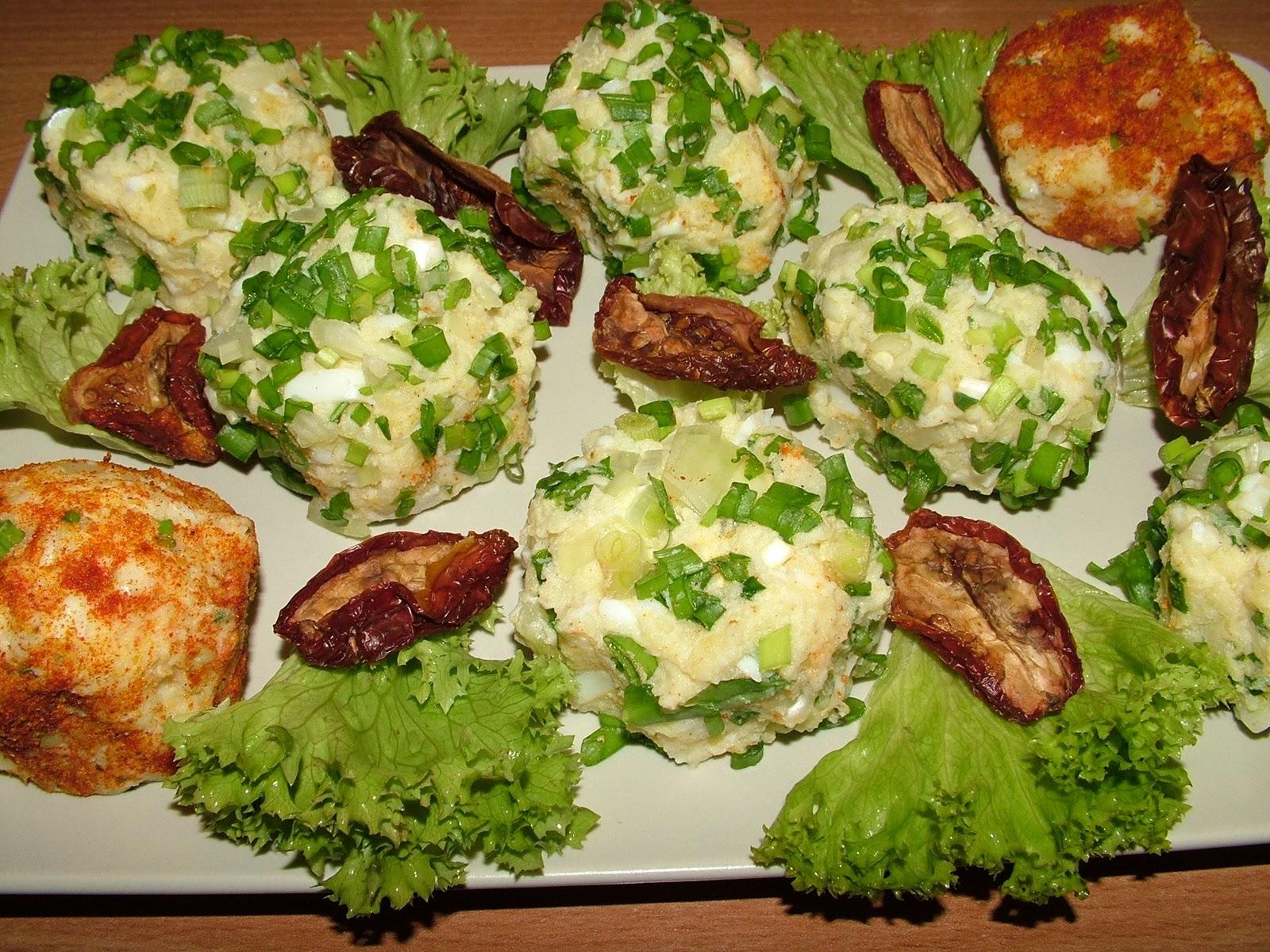 Kule ziemniaczano-jajeczne