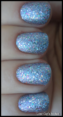 china glaze liquid crystal swatches and review
