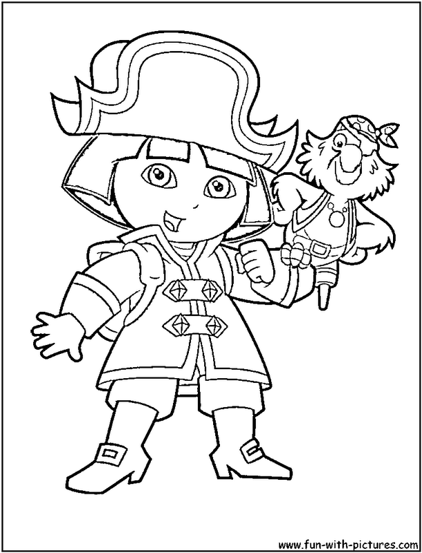 dora coloring pages halloween wwe - photo#27