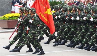 Đảng cộng sản Việt Nam lãnh đạo quân đội nhân dân là tất yếu!