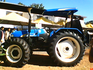 Menor Trator da New Holland