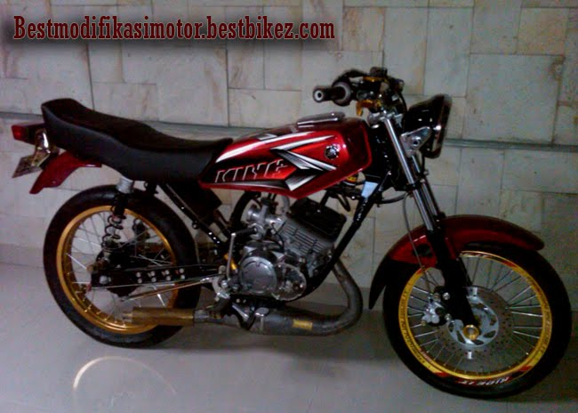 Modifikasi Motor Rx King Cobra