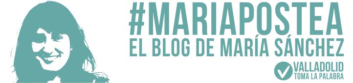 Blog de María Sánchez. Concejala de Medio Ambiente y portavoz de Valladolid Toma La Palabra