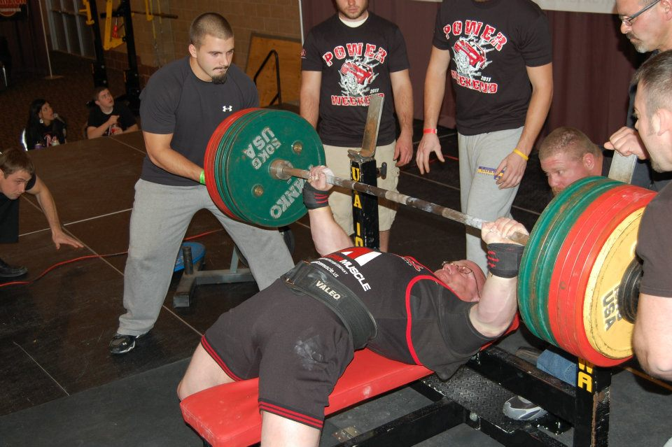 2x all time world bench press record holder