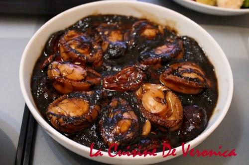La Cuisine De Veronica 髮菜花菇蠔豉炆鮑魚