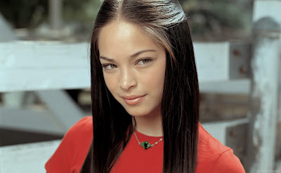 Kristin Kreuk Hollywood Actress Spicy Wallpaper-108