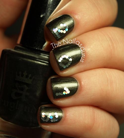 Happy New Year Nails The Nailasaurus Uk Nail Art Blog