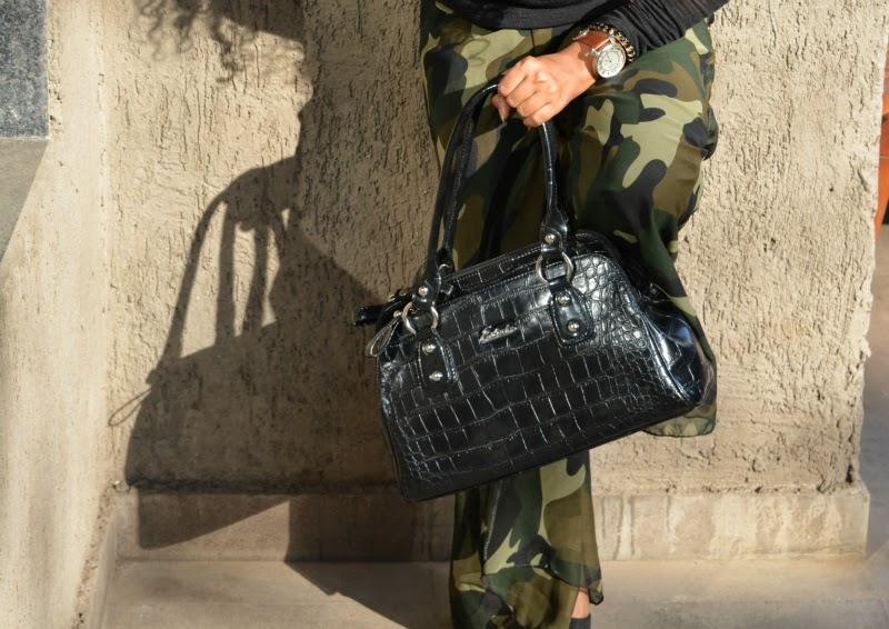 top indian fashion blogger military print fashion trend
