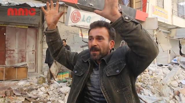 40 Tewas, Begini Kehancuran Pasar Idlib usai di Bombardir Rusia