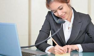 Percakapan Sekretaris Di Telepon Bahasa Indonesia dan Inggris