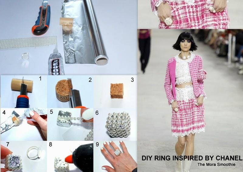 DIY, ring, Chanel, doityourself, diyblog, diyblogger, diyjewelry, recycling, fashionblog, fashionblogger, diyblogger, diyproject, diycraft