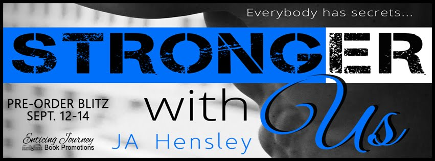 Stronger With Us Pre Order Blitz