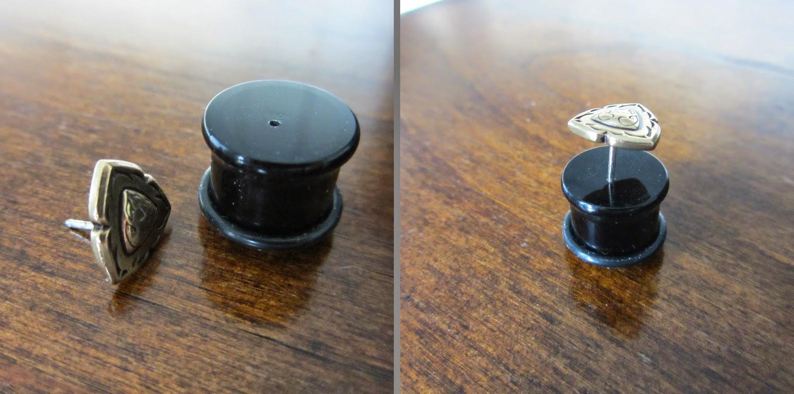 Koala Art And Design Plug Earring Converter : Not another plug earring converter ehkä paras