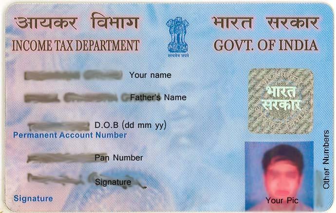Apply PAN Card - NEW PAN CARD - Correction Pan Card