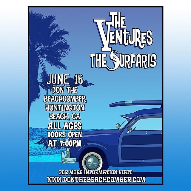 Live from Huntington Beach - JUNE 16 (friday)