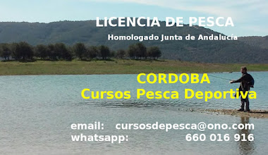 Cursos Licencia Pesca Andalucía