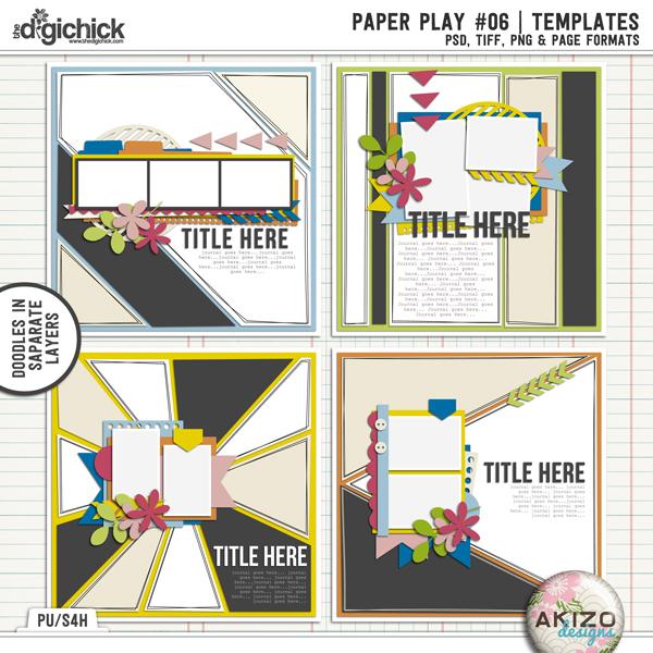 Paper Play 06 by Akizo Designs