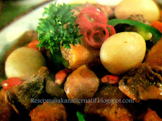 Resep Masakan Krecek Bumbu Sambal Pedas