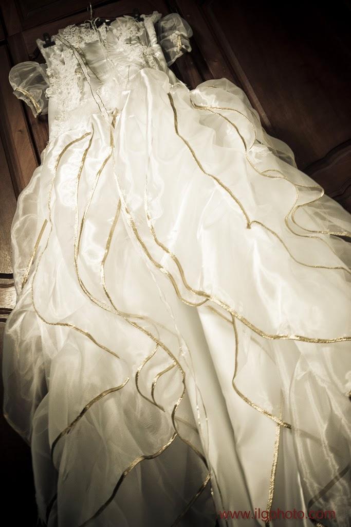Mariage de Steffy et Manuel: la robe de mariée