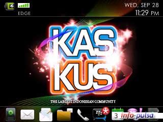 KasKus - BlackBerry Theme