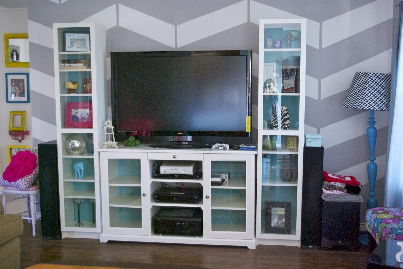 skinny meg media center and chippy loveliness. Black Bedroom Furniture Sets. Home Design Ideas