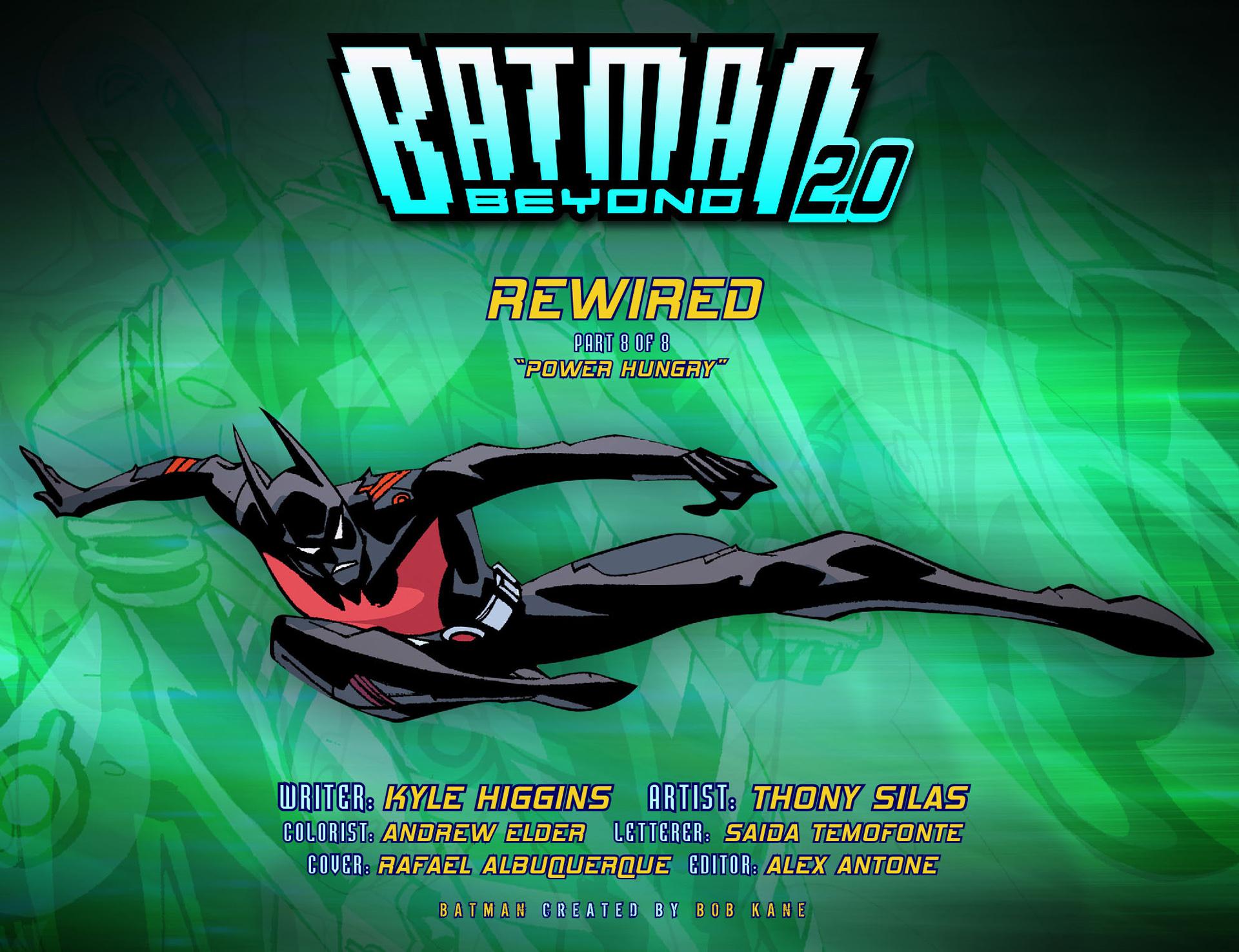 Batman Beyond 2.0 #8 #33 - English 2