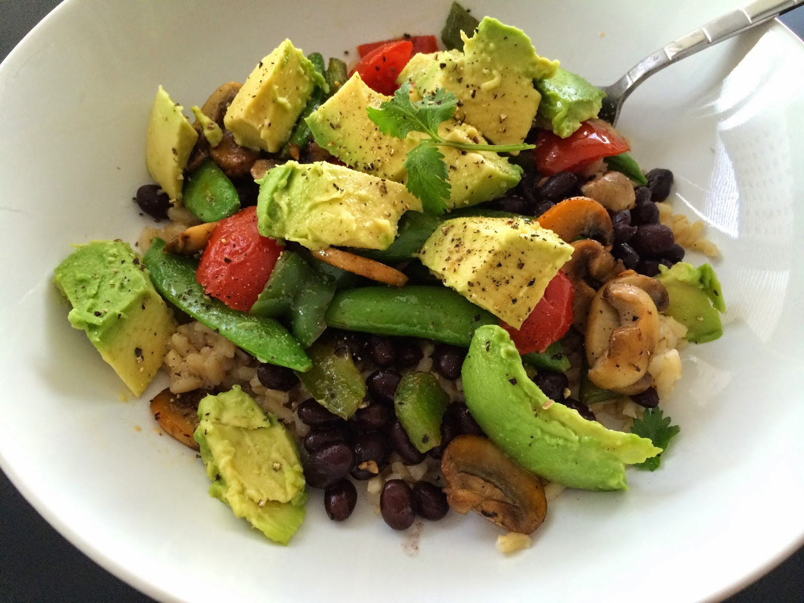 Vegetarian, Burrito Bowl, Recipe