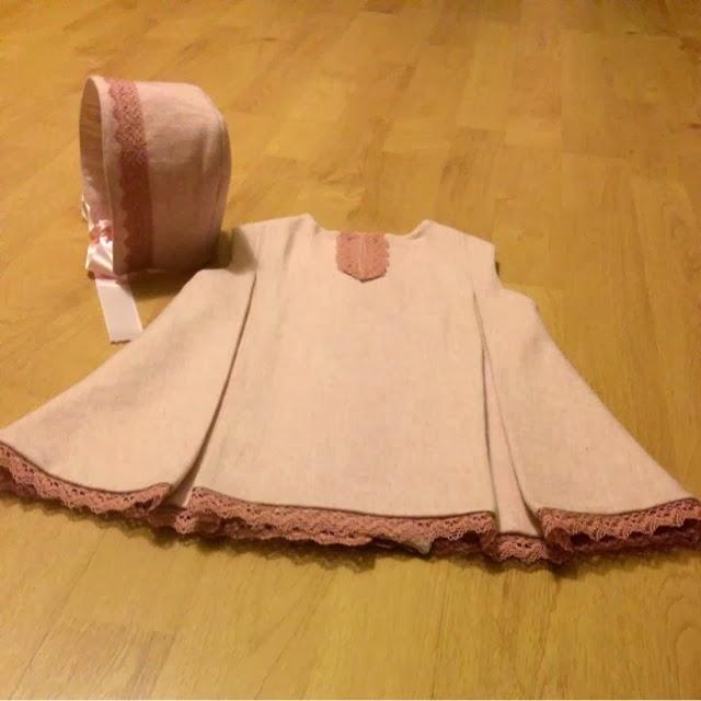 Tutorial vestido y capota