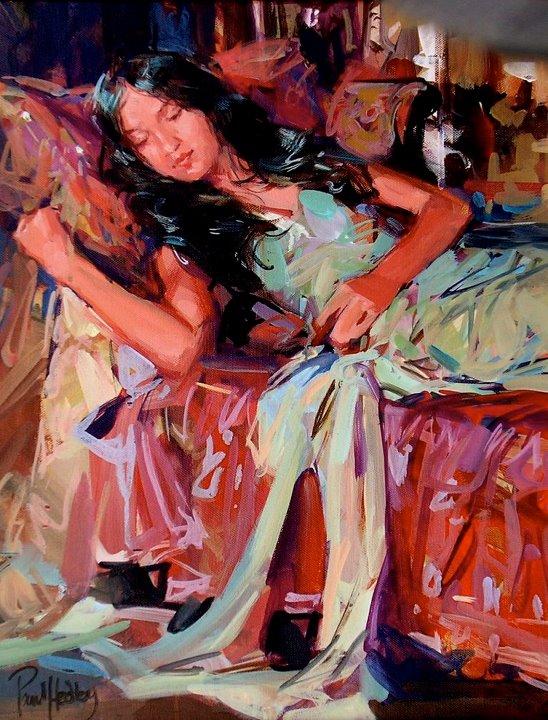 Paul Hedley 1947 | pintor figurativo britânico